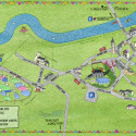 Hay Festival Town Map 2012