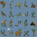 The Wild. Alphabet series goes party! Available as individual letters